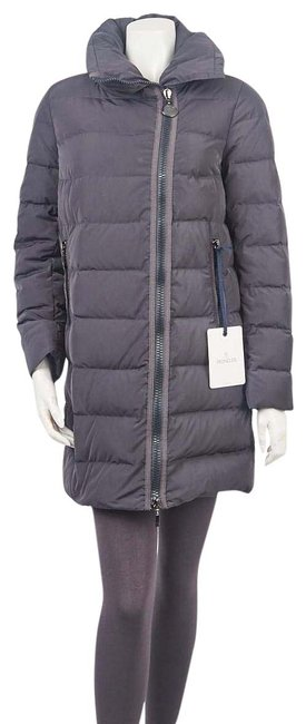 Item - Grey Quilted Polyester Petrea Jacket 1/S Coat Size 4 (S)