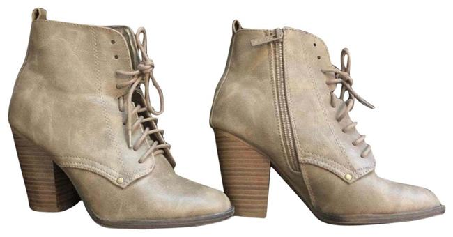 Item - Taupe Lace Boots/Booties Size US 6 Regular (M, B)