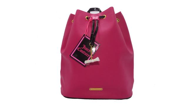 Item - Hot Pink Faux Leather Backpack