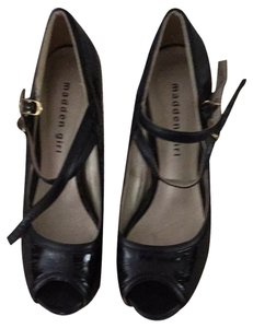 Madden Girl Black Patent Pumps
