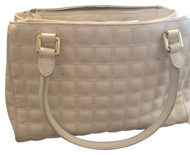 Vince Camuto Like New White Leather Tote Vince Camuto Like New White Leather Tote Image 1