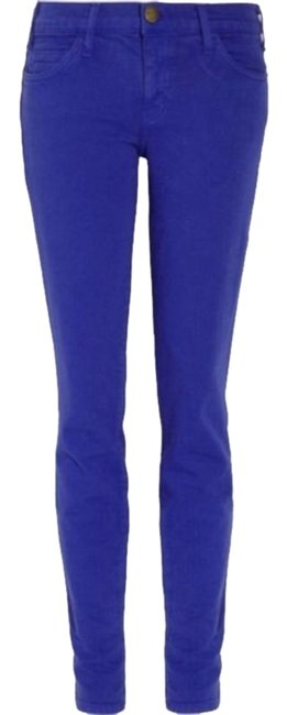 Item - Purple  Blue The Low Rise Cropped Skinny Jeans Size 26 (2, XS)