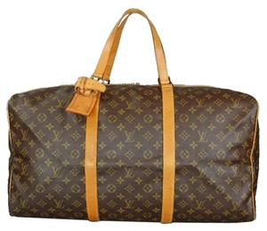 Louis Vuitton Dark Brown Travel Bag