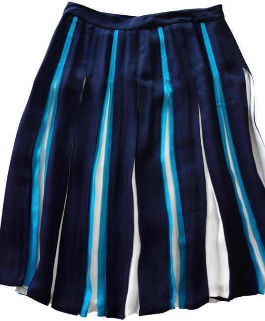 Item - Blue/Ivor Collection Dvf Melita Two Skirt Size 12 (L, 32, 33)