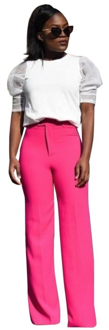 Item - Pink W W/ Darts Pants Size 4 (S, 27)