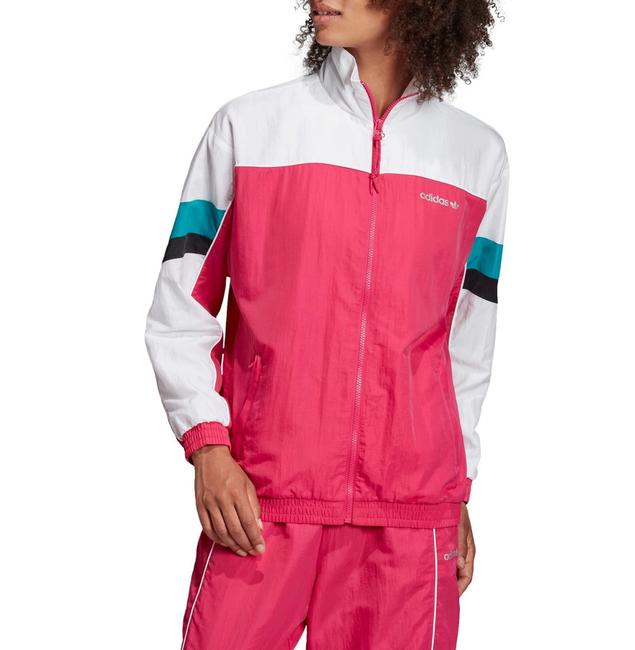adidas Tech Track Activewear Outerwear Size 2 (XS) adidas Tech Track Activewear Outerwear Size 2 (XS) Image 1