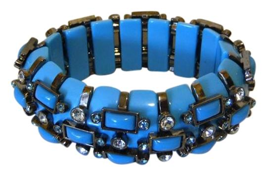 Preload https://item3.tradesy.com/images/real-collectibles-by-adrienne-hematite-tone-crystal-stretch-bracelet-2813122-0-3.jpg?width=440&height=440