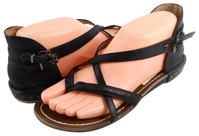 Item - Black Lucille Strappy Thong Sandals Flats Size EU 35 (Approx. US 5) Regular (M, B)