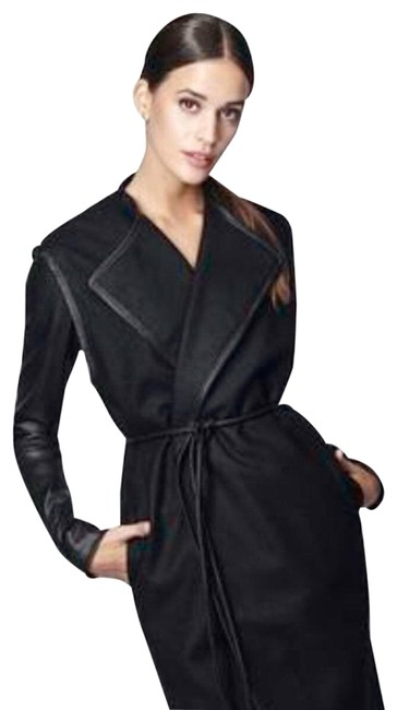 Cuyana Black Wool Belt Vest Jacket Size 8 (M) Cuyana Black Wool Belt Vest Jacket Size 8 (M) Image 1