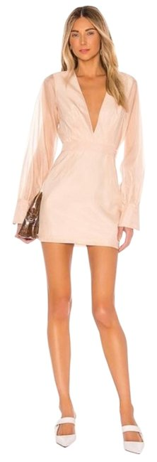 Item - Pink L The Penelope In Nude Short Cocktail Dress Size 8 (M)
