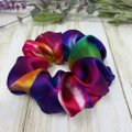 Handmade Tie Dye Pure Mulberry Silk Scrunchie
