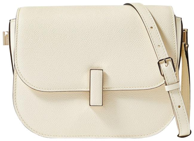 Item - Iside Small Textured-leather Tote Cream Leather Shoulder Bag