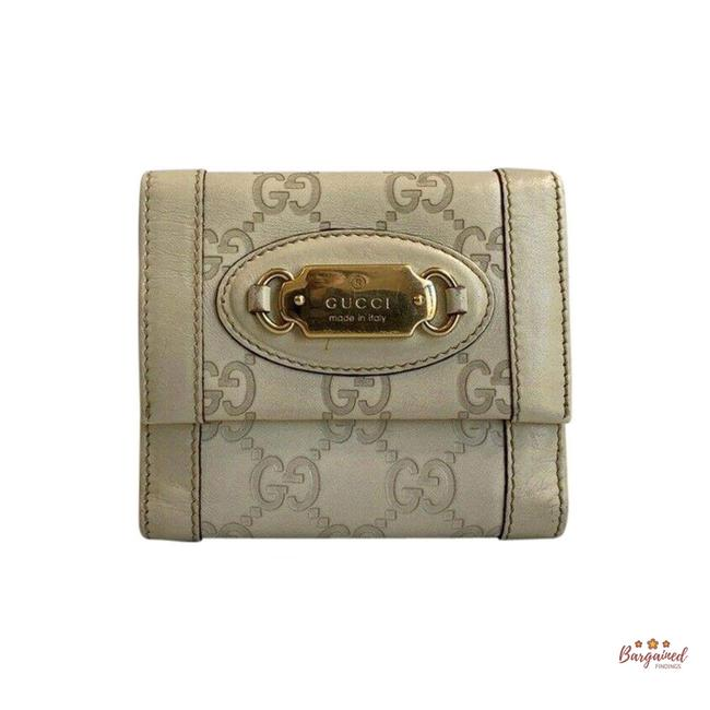 Item - Off White ssima Leather Double Sided Bifold 146198 Wallet