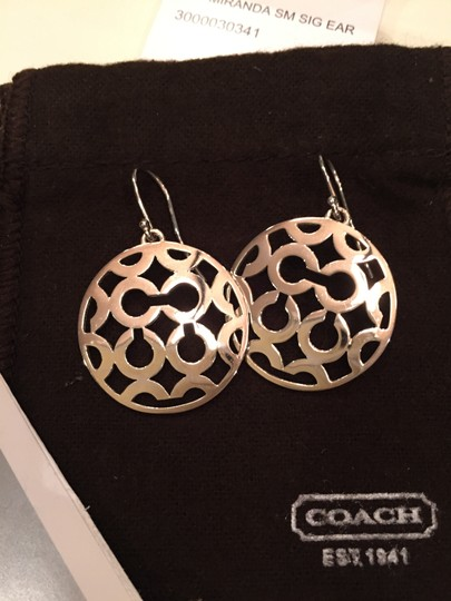 Coach Coach Miranda Small Signature Earrings