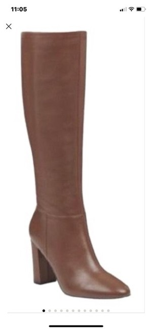 Item - Brown Tall Knee Hi Boots/Booties Size US 8 Regular (M, B)