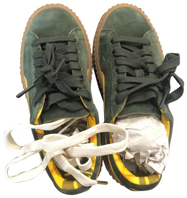 Item - Suede Cleated Creepers Sneakers Size US 5.5 Regular (M, B)