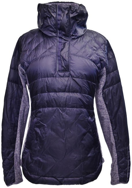 Item - Purple Quilted Pull Over Activewear Outerwear Size 10 (M)