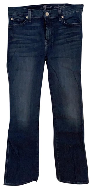 Item - Medium Wash Cropped Boot Cut Jeans Size 8 (M, 29, 30)