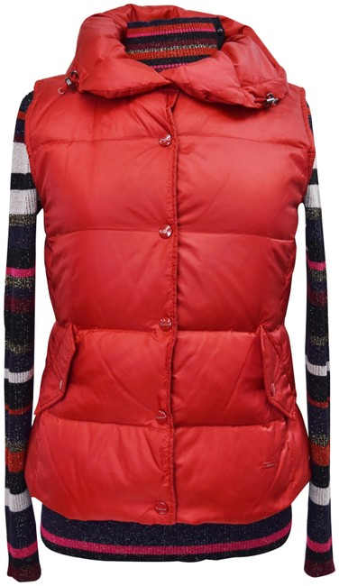Item - Red Puffer Small Vest Size 6 (S)