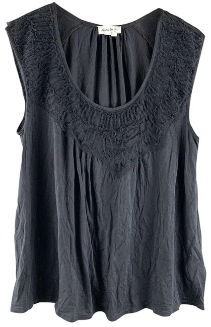 Meadow Rue Gray XS Tank Tulle Extra Small Anthropologie Tee Shirt Size 0 (XS) Meadow Rue Gray XS Tank Tulle Extra Small Anthropologie Tee Shirt Size 0 (XS) Image 1