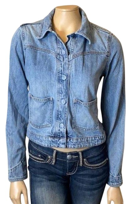 Item - Blue Jean Jacket Size 8 (M)