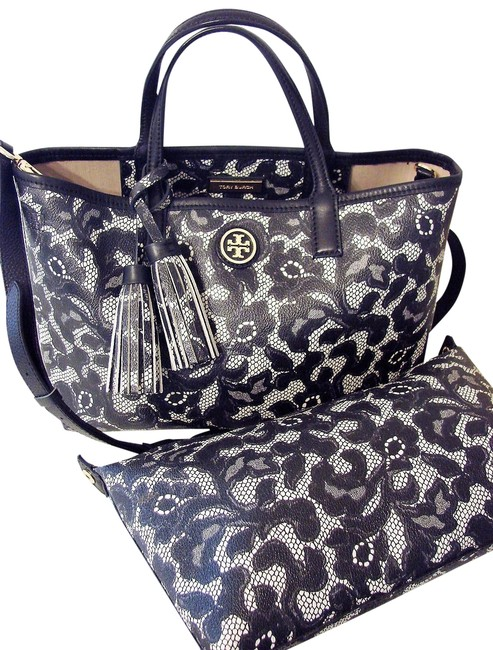 Item - Kerrington Convertible with Pouch Multicolor Coated Canvas/Leather Tote