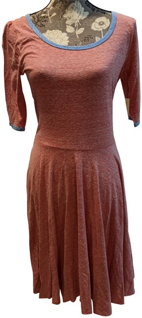 Item - Red Nicole Mid-length Short Casual Dress Size 8 (M)