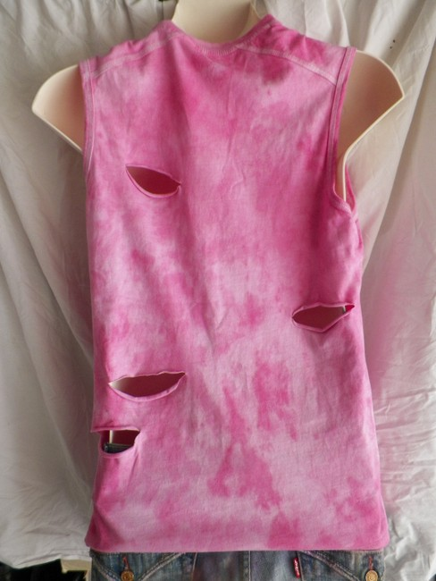 Other Vintage Cloths Affordable Fashions Hippie T Shirt pink white