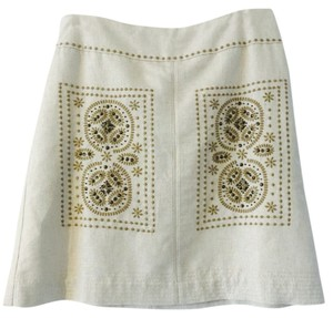 Floreat Skirt Off White