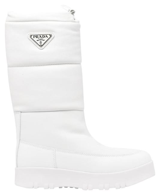 Item - White Dm Padded Boots/Booties Size EU 35 (Approx. US 5) Regular (M, B)