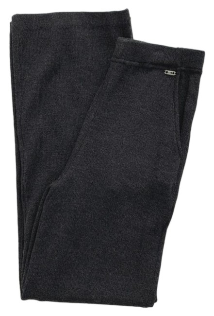 Item - Dark Grey Wool Knit Drawstring Pants Size 2 (XS, 26)