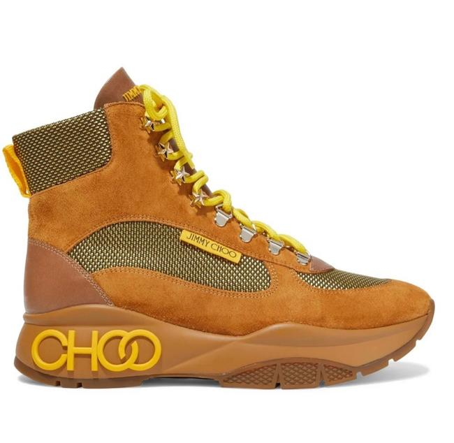 Item - Camel Neon Lace Chunky Sneaker Boots/Booties Size US 6 Regular (M, B)
