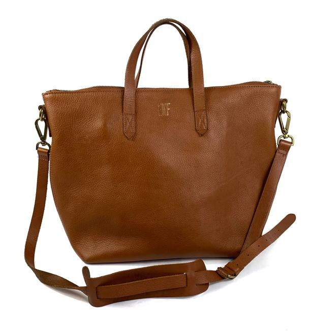Madewell The Transport Zip Satchel Leather Tote Madewell The Transport Zip Satchel Leather Tote Image 1