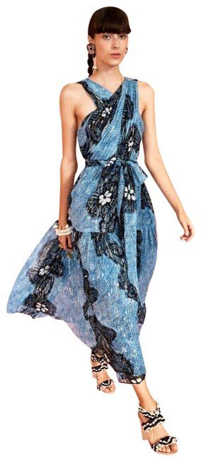Item - Multicolor Long Night Out Dress Size 8 (M)