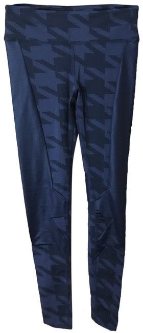 Item - Navy Houndstooth Accelerate Activewear Bottoms Size 8 (M)