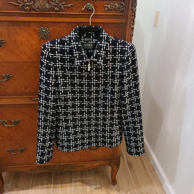 Item - Black and White Casual Jacket Size 10 (M)
