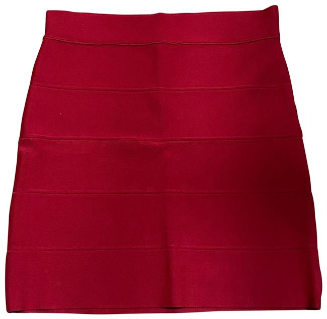Item - Red Simone Style #lhl3b707 Skirt Size 12 (L, 32, 33)