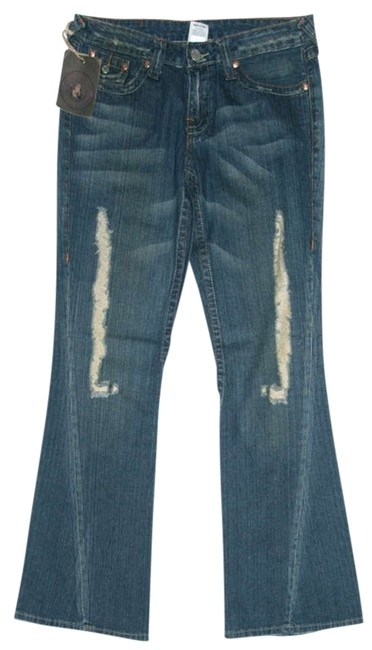 True Religion Flare Pants Blue