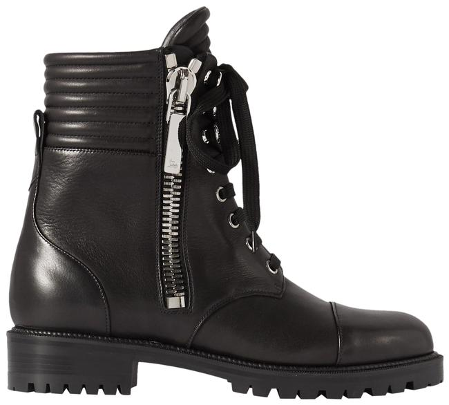 Item - Black En Hiver Lace-up Leather Ankle Boots/Booties Size EU 36 (Approx. US 6) Regular (M, B)