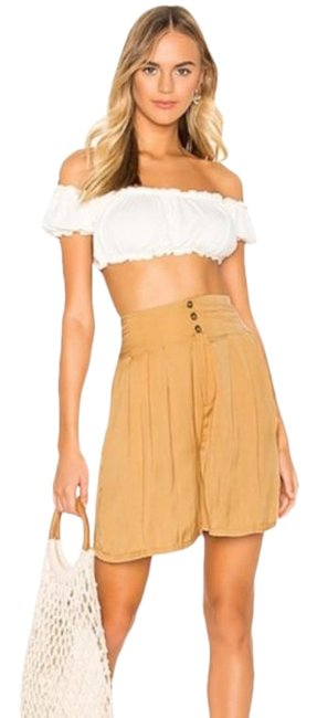Item - Gold Long Beach Brittany In M Shorts Size 8 (M, 29, 30)