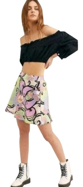 Item - Pink Green Sugar & Spice Floral 0 Skirt Size 0 (XS, 25)