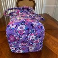 Vera Bradley Large Duffel Enchanted Garden Weekend/Travel Bag Vera Bradley Large Duffel Enchanted Garden Weekend/Travel Bag Image 2