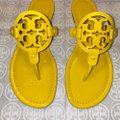 Tory Burch Limone Miller Patent Sandals Size US 8 Regular (M, B) Tory Burch Limone Miller Patent Sandals Size US 8 Regular (M, B) Image 5