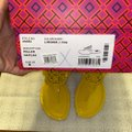 Tory Burch Limone Miller Patent Sandals Size US 8 Regular (M, B) Tory Burch Limone Miller Patent Sandals Size US 8 Regular (M, B) Image 7