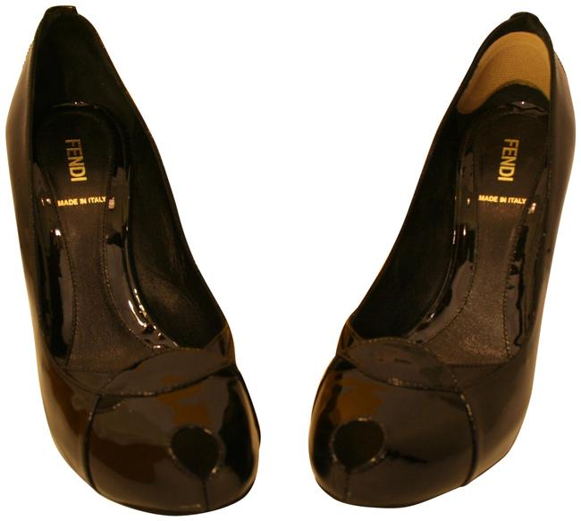 Item - Black Spuntata Platforms Size EU 38 (Approx. US 8) Regular (M, B)