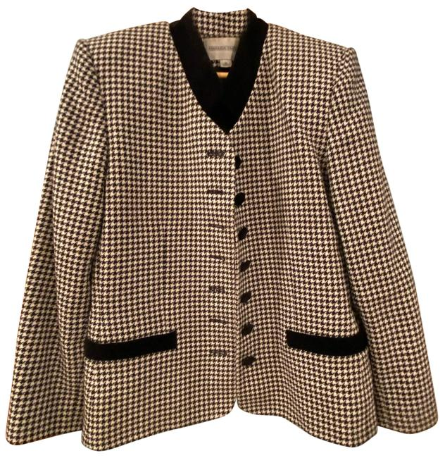 Item - Black and White Pant Suit Size 10 (M)