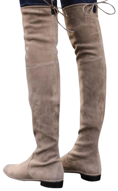 Item - Taupe Lowland Suede 4500664857 Over The Knee Boots/Booties Size US 9.5 Regular (M, B)