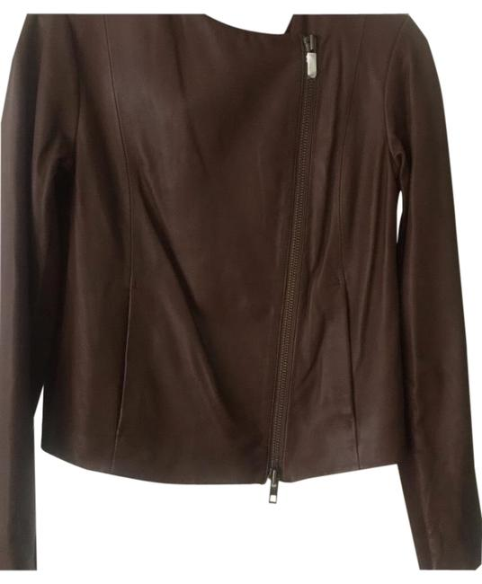 Item - Brown Zip Front In Excellent Condition Jacket Size 12 (L)