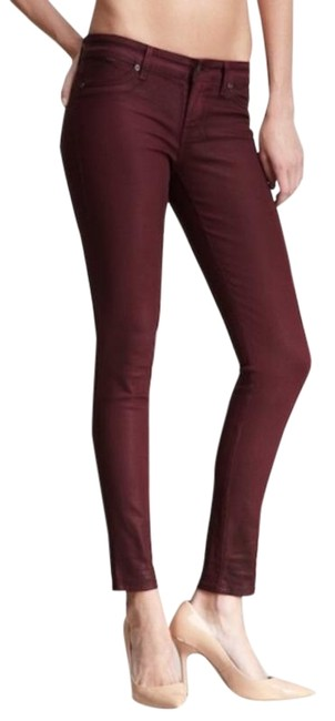 Item - Red Coated Legacy Skinny Jeans Size 29 (6, M)