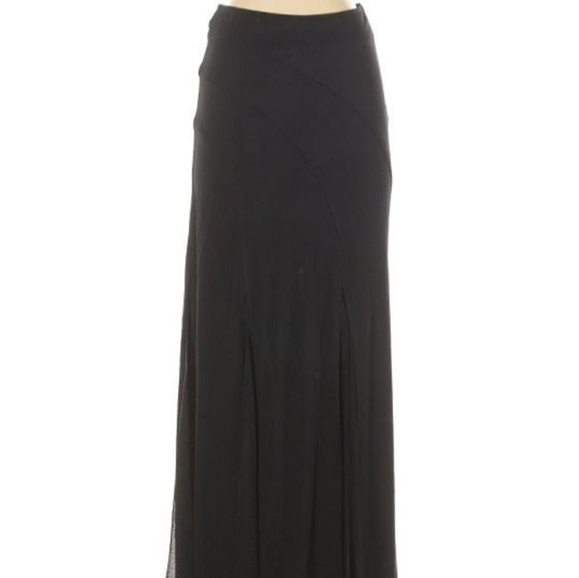 Item - Black Vintage Sexy Split Hem Skirt Size 4 (S, 27)